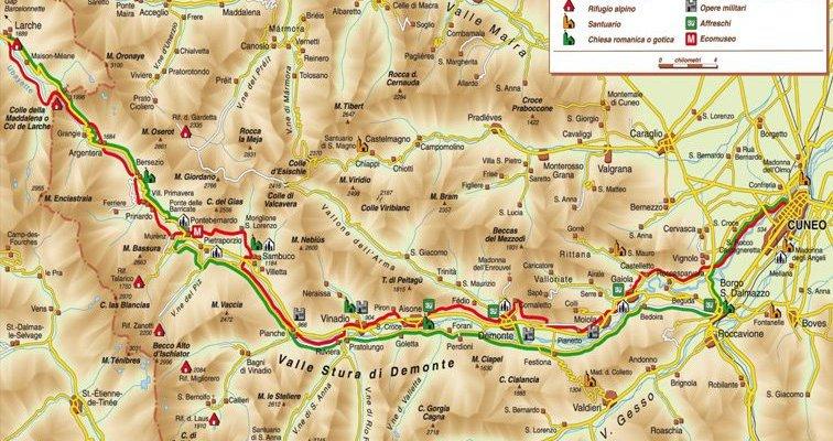 Mappa-cammino-Santiago