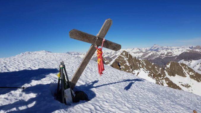 croce di vetta Corborant