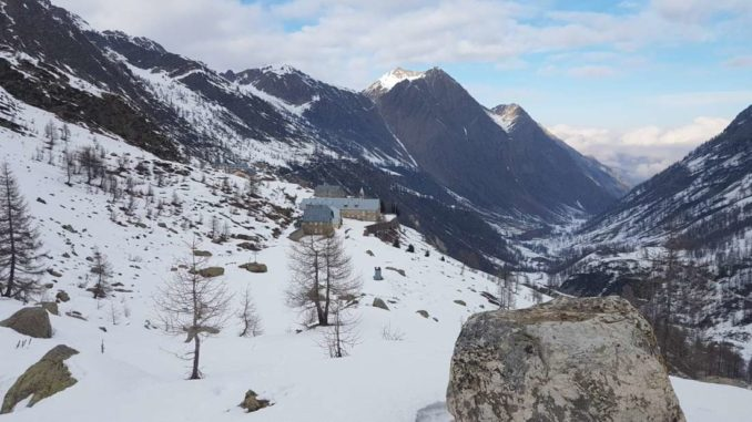 Panorama verso il vallone