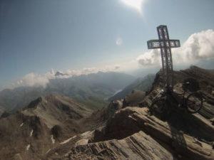 Vista dalla croce del Salza - cima Nord Ovest (3326 mslm)