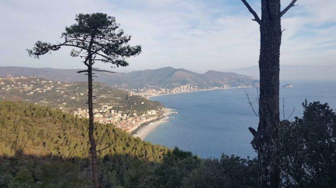 Panorama verso Noli