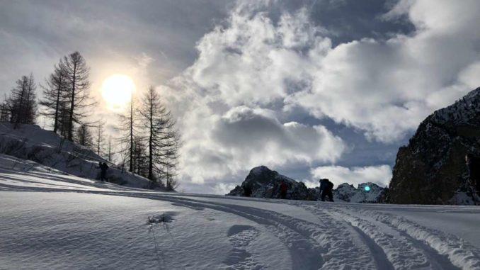Neve fresca ed abbondante