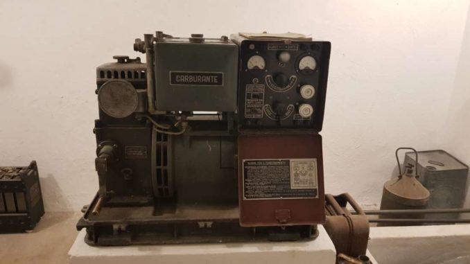 motore del gruppo elettrogeno