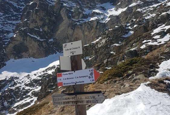 Colle di Chiosso 2430 mt