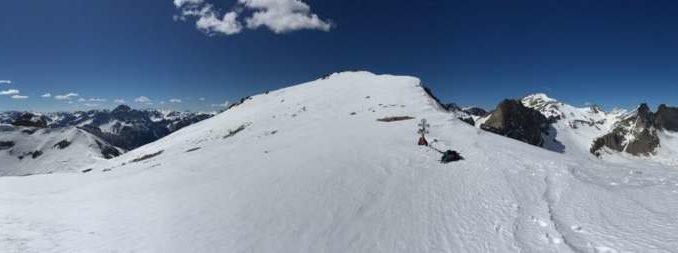 Panorama verso il passo del Chersogno SE 2880 mt