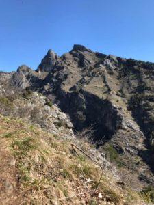 Alcune cime lungo il sentiero